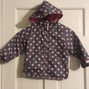 Carters Fleece/Windbreaker Jacket